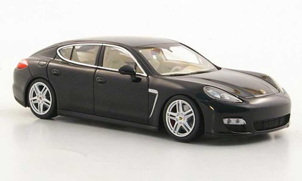 Porsche Panamera Turbo S 1/43 Minichamps Turbo noire 2011 miniature