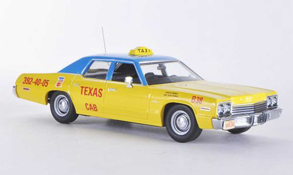 Dodge Monaco 1974 1/43 Minichamps Texas Cab - Taxi miniature