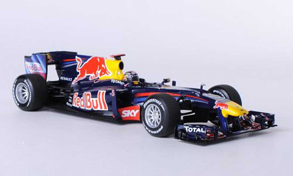 Red Bull F1 2010 1/43 Minichamps Renault RB6 No.5 S.Vettel GP Brasilien miniature