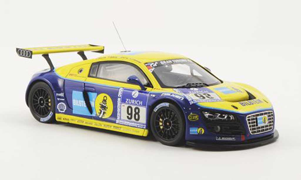 Audi R8 LMS 1/43 Minichamps No.98 Bilstein Phonix Racing Stuck/Biela/Pirro/Fassler 24h Nurburgring 2009 diecast model cars