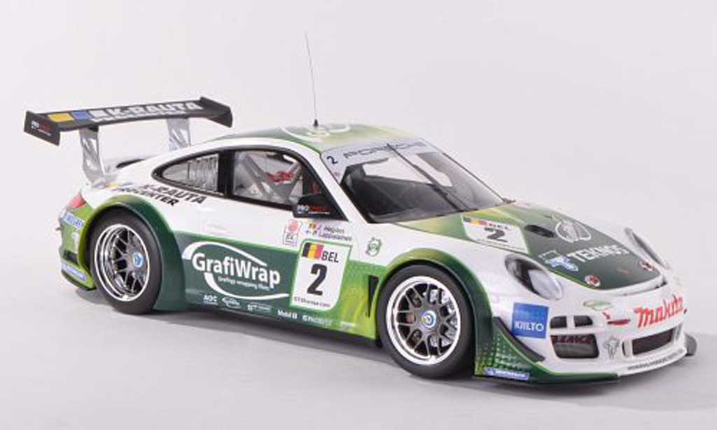 Porsche 997 GT3 1/18 Minichamps R 2011 No.2 Prospeed Competition FIA Meisterschaft Lappalainen/Heylen diecast model cars