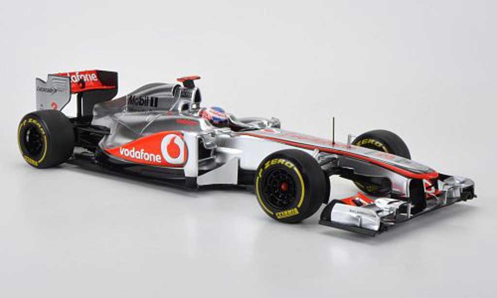 Mercedes F1 1/18 Minichamps McLaren No.3 Vodafone Jenson Button Showcar 2012 miniature