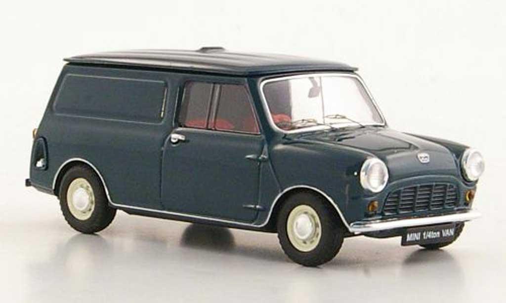 Austin Mini Van 1/43 Ebbro 1/4 ton verte RHD miniature