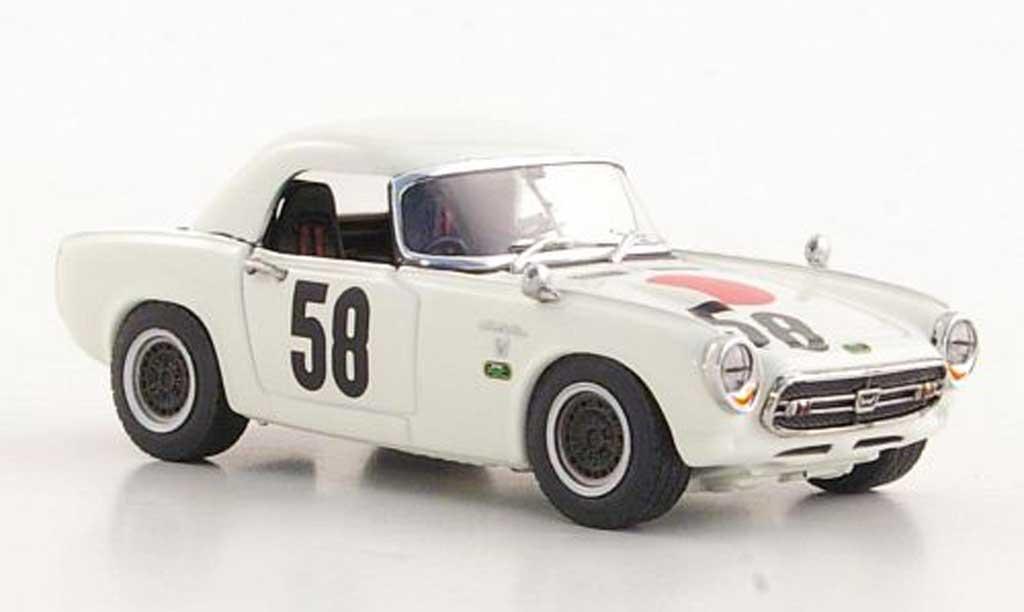 Honda S800 1/43 Ebbro Racing No.58 T.Ikuzawa 500km Nurburgring 1967 miniature