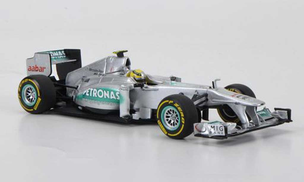 Mercedes F1 2012 1/43 Minichamps AMG Petronas Team No.8 N.Rosberg Prasentationsfahrzeug miniature