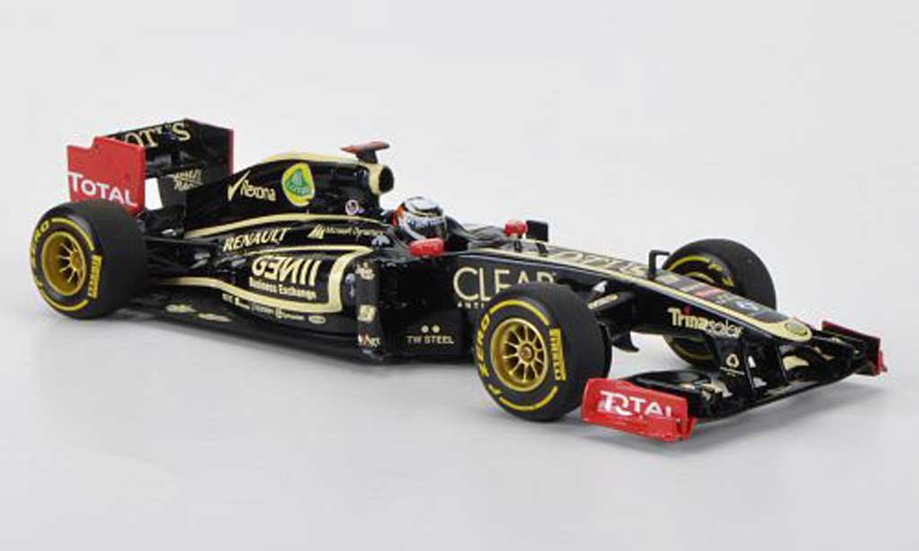 Lotus F1 2012 1/43 Minichamps Renault F1 Team No.9 K. Raikkonen Showcar miniatura