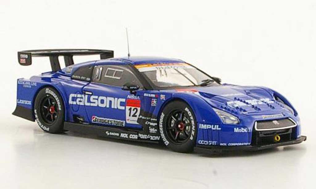Nissan Skyline 1/43 Ebbro GT-R No.12 Calsonic Impul Super GT500 Okayama 211 modellautos