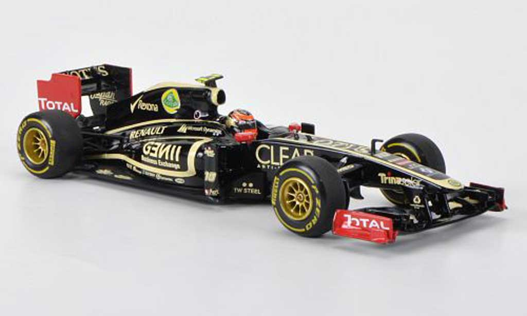 Lotus F1 2012 1/43 Minichamps Renault F1 Team No.10 R.Grosjean Showcar