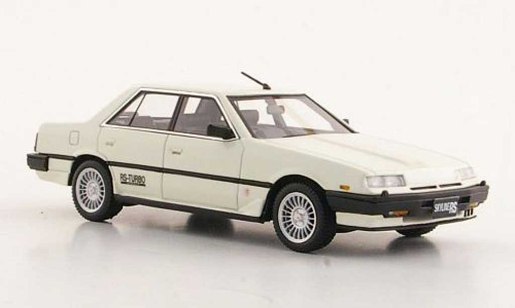 Nissan Skyline 2000 1/43 Hi Story Sedan Turbo -X blanche RHD 1984 miniature