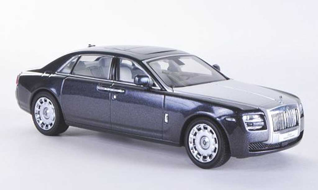 Rolls Royce Ghost EWB 1/43 Kyosho anthrazit/grise LHD  2010 miniature