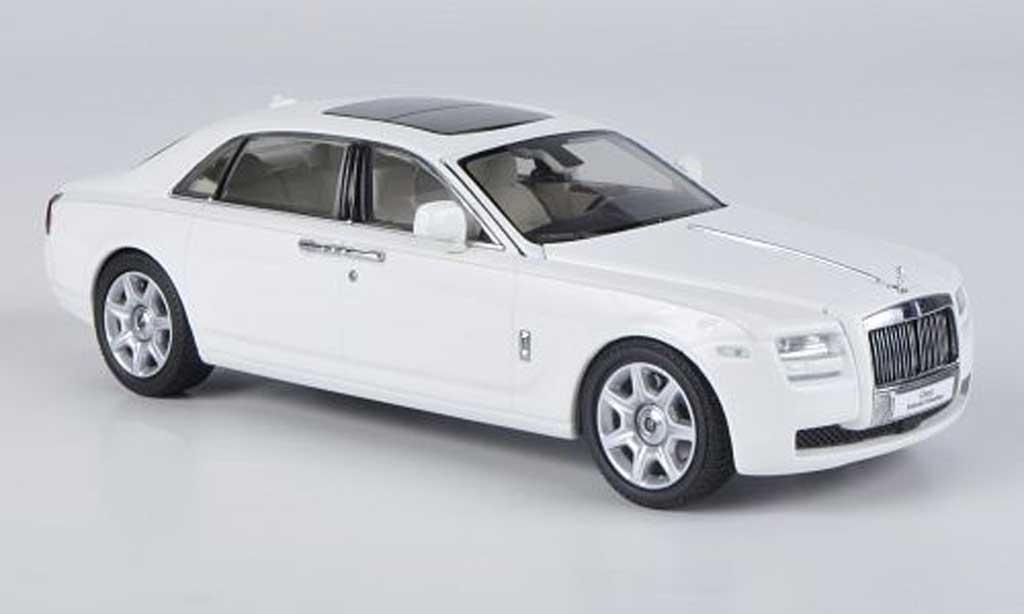 Rolls Royce Ghost EWB 1/43 Kyosho blanche LHD miniature