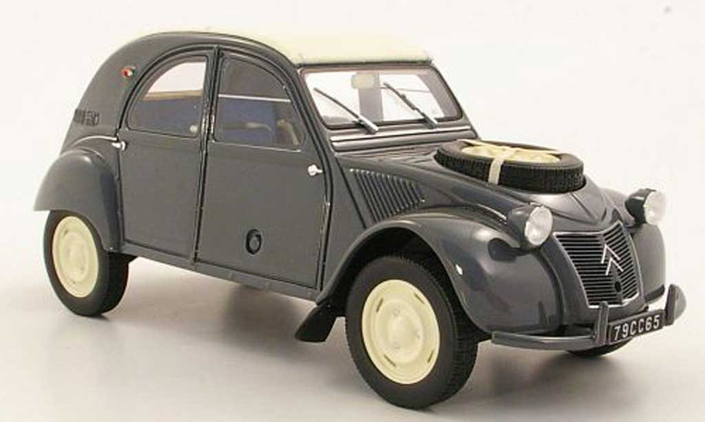 Citroen 2CV 1/18 Ottomobile 4x4 Sahara grey diecast model cars