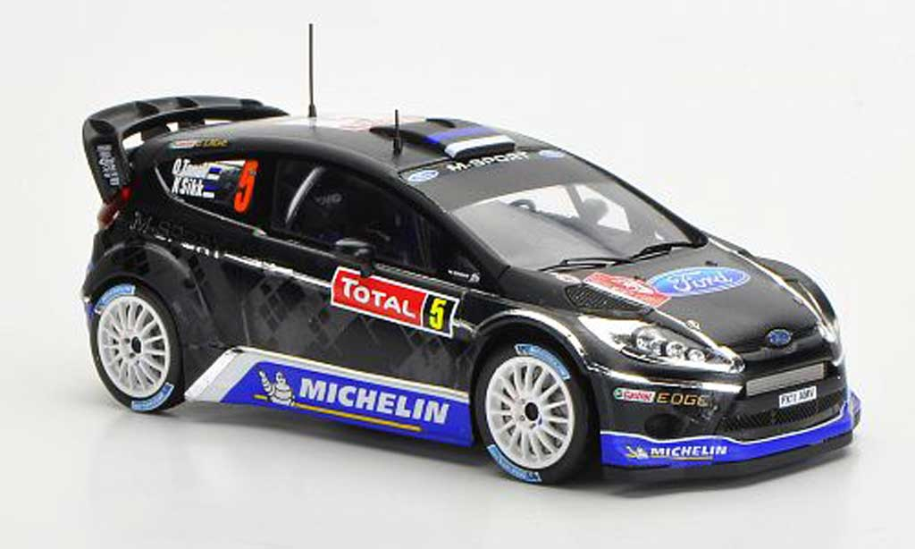 Ford Fiesta WRC 1/43 Spark No.5 M-Sport Rally Monte Carlo 2012 miniature