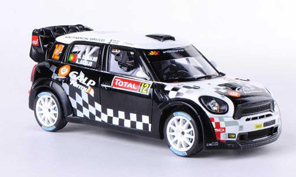Mini Cooper WRC 1/43 Spark Works No.12 Galp Rallye Monte Carlo 2012 A.Araujo/ M.Ramalho miniature