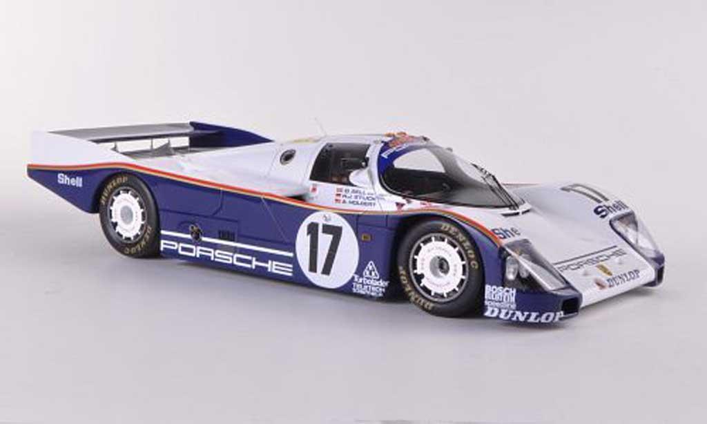 Porsche 962 1987 1/18 Spark No.17 D.Bell/A.Holbert/H.Stuck 24h Le Mans miniature