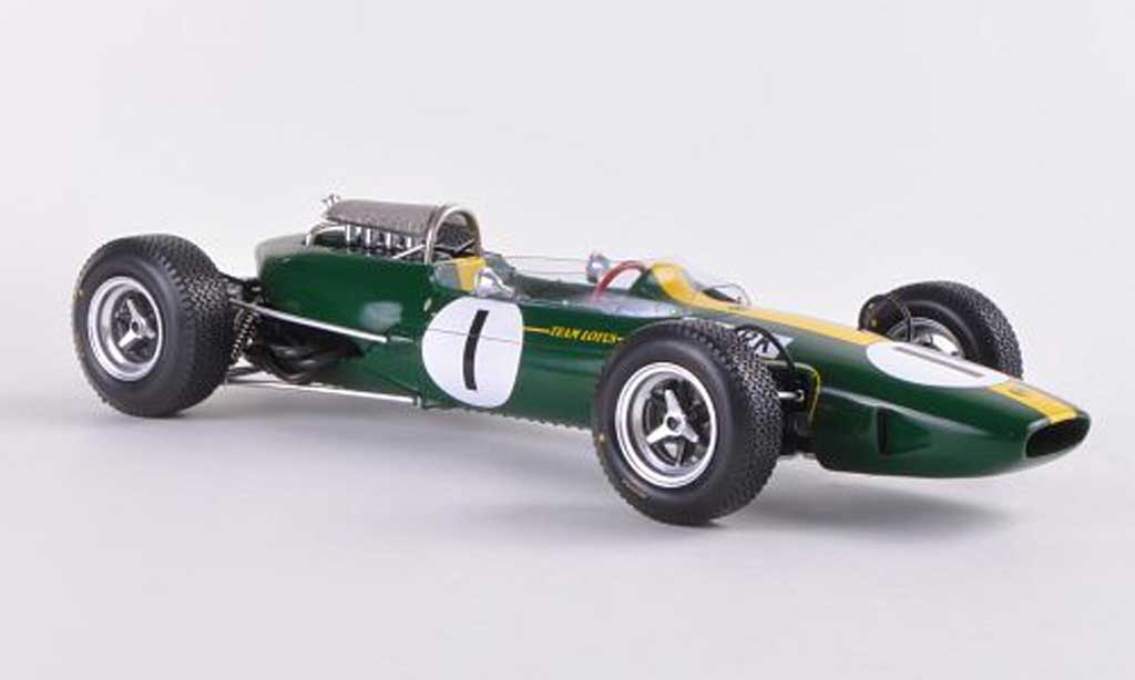 Lotus 33 1/18 Spark No.1 Team J.Clark GP Deutschland 1965 miniature