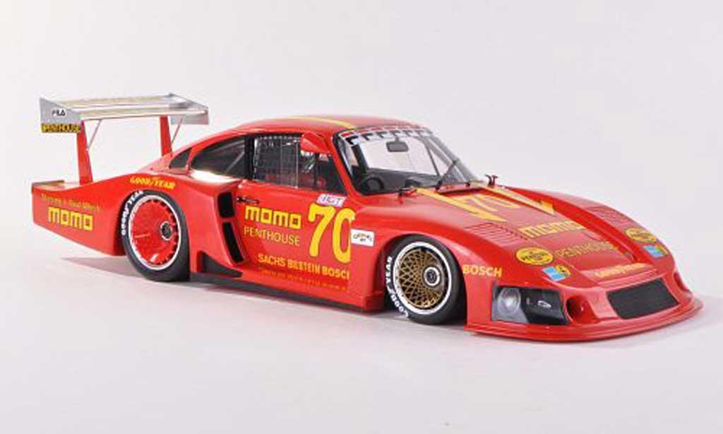 Porsche 935 1981 1/18 Spark /78 No.70 Momo G.Moretti Norisring miniature