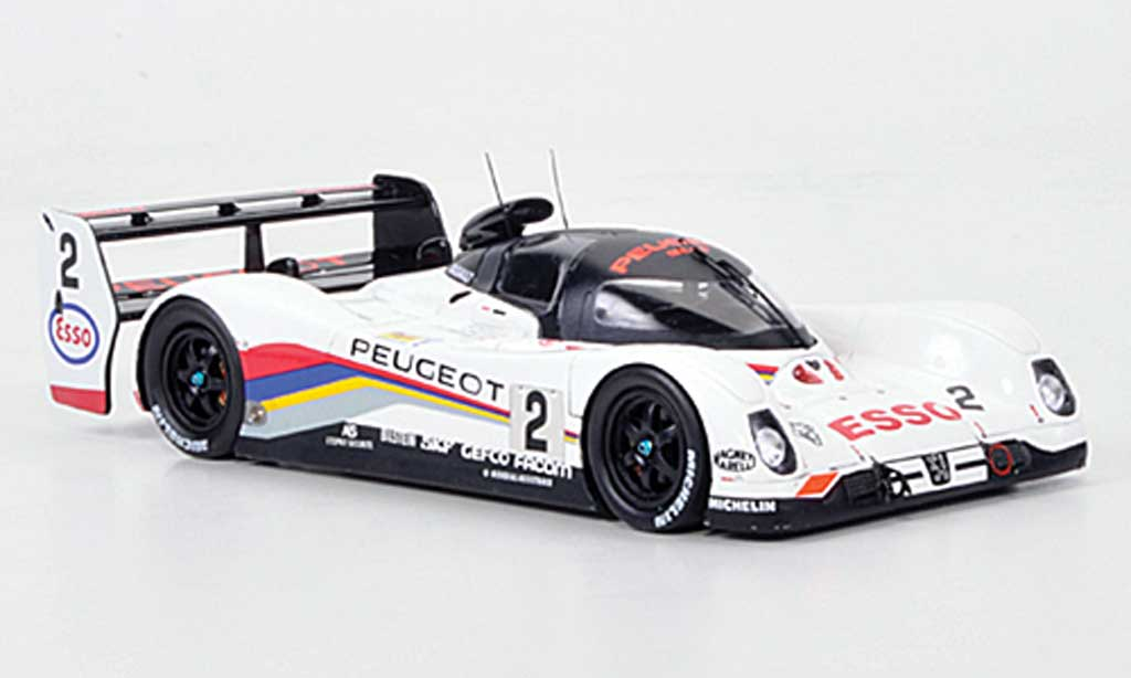 Peugeot 905 1992 1/43 Spark EV1 bis No.2 Esso 24h Le Mans miniature