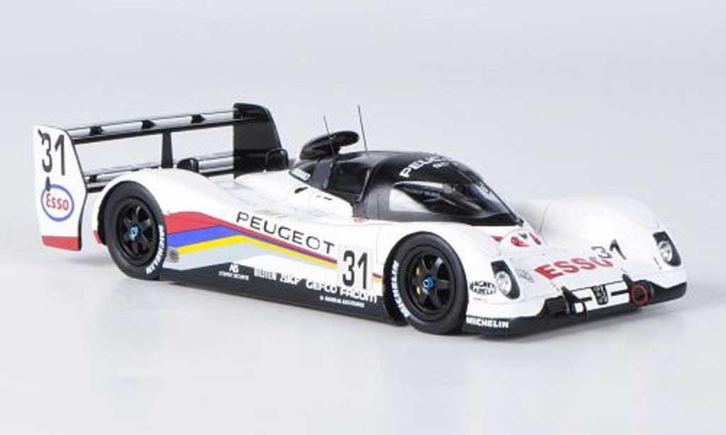 Peugeot 905 1992 1/43 Spark EV1 bis No.31 Esso 24h Le Mans miniature