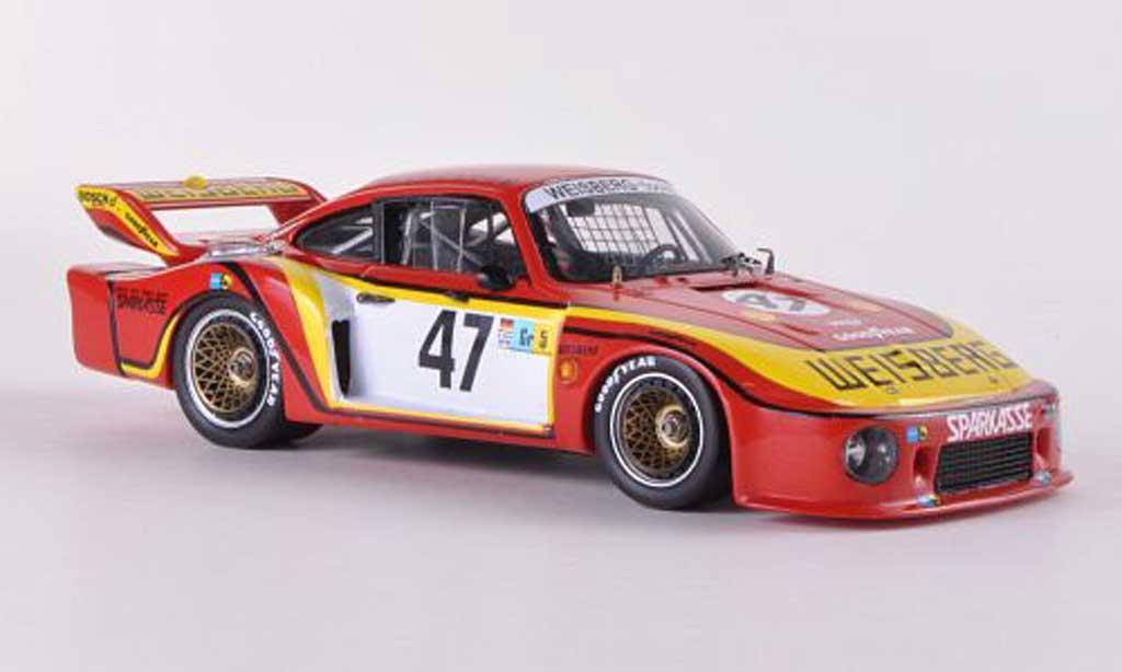 Porsche 935 1978 1/43 Spark Gr.5 No.47 Weisberg K.Ludwig / J.Fitzpatrick / T.Hezemans 24h Le Mans diecast model cars