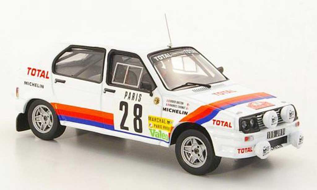 Citroen Visa 1/43 IXO Chrono No.28 M.Chomat / D.Breton Rally Monte Carlo miniature