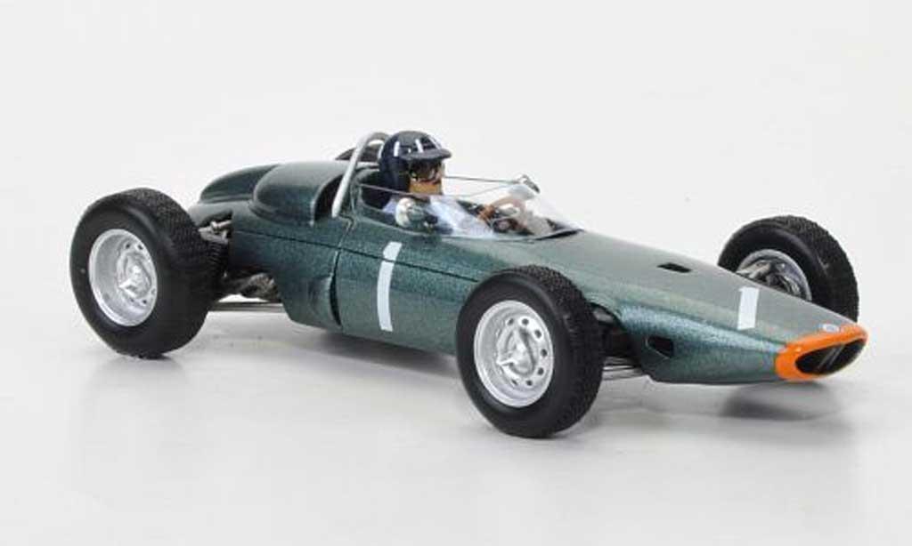 Brm P57 1/43 Spark No.1 G.Hill GP USA 1963 miniature