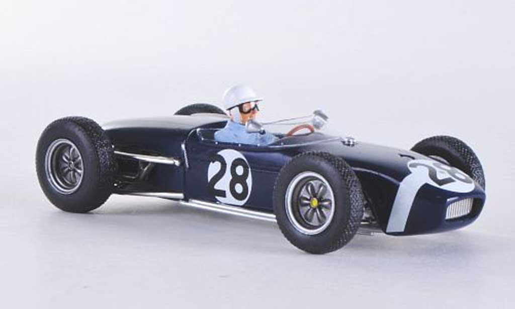 Lotus 18 1/43 Spark No.28 S.Moss GP Monaco 1960 miniature