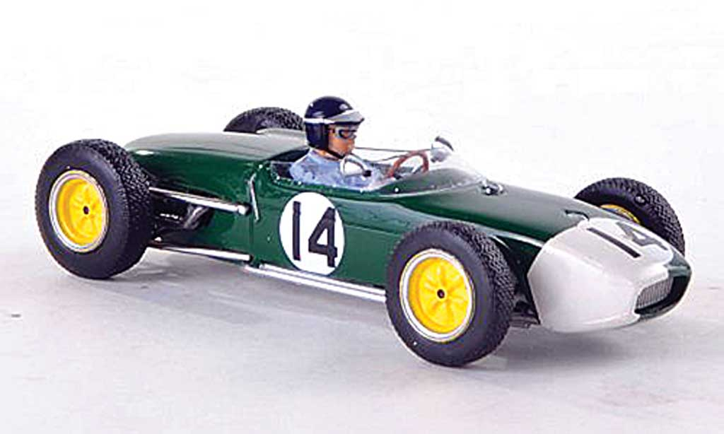 Lotus 18 1/43 Spark No.14 Team GP Portugal 1960 J.Clark miniature