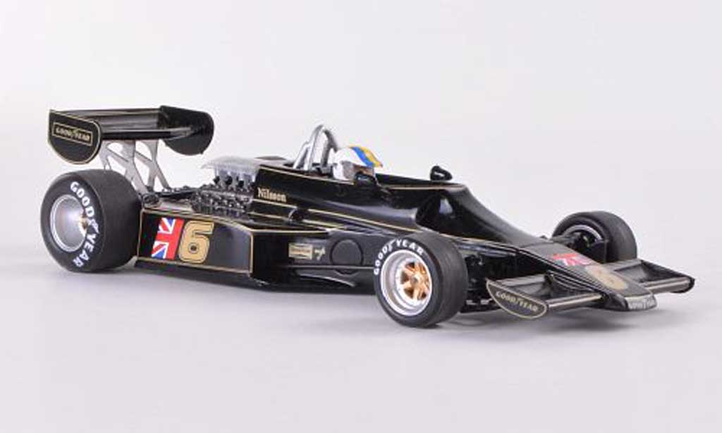 Lotus 77 1/43 Spark No.6 John Player Special G.Nilsson GP Monaco 1976 diecast model cars