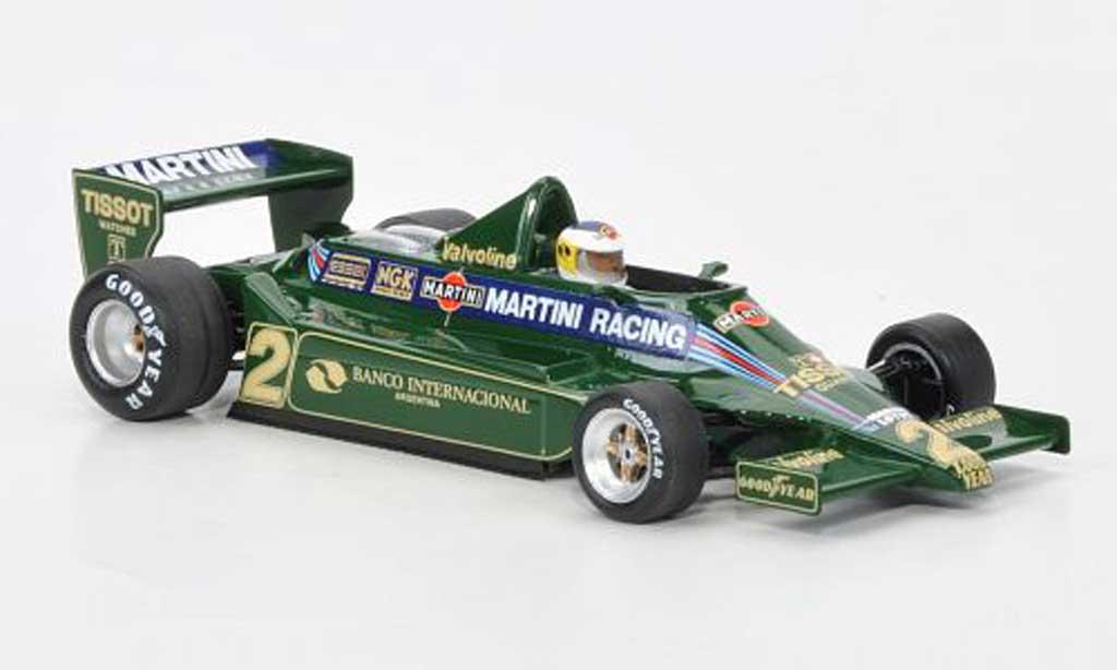 Lotus F1 1979 1/43 Spark 79 No.2 Martini Racing C.Reutemann GP Argentinien modellautos