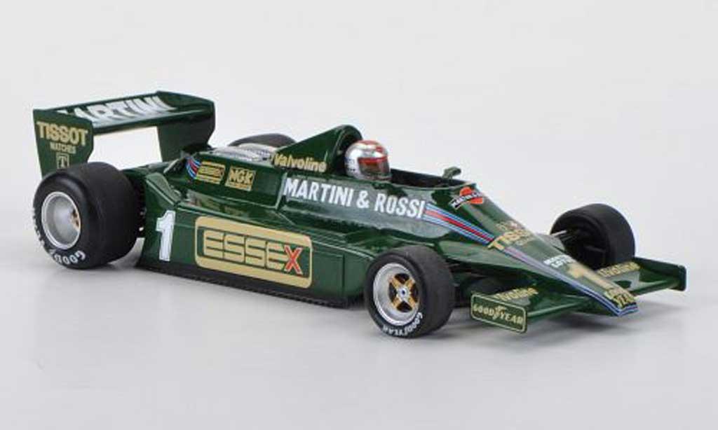 Lotus F1 1979 1/43 Spark 79 No.1 Martini/Essex M.Andretti GP Long Beach