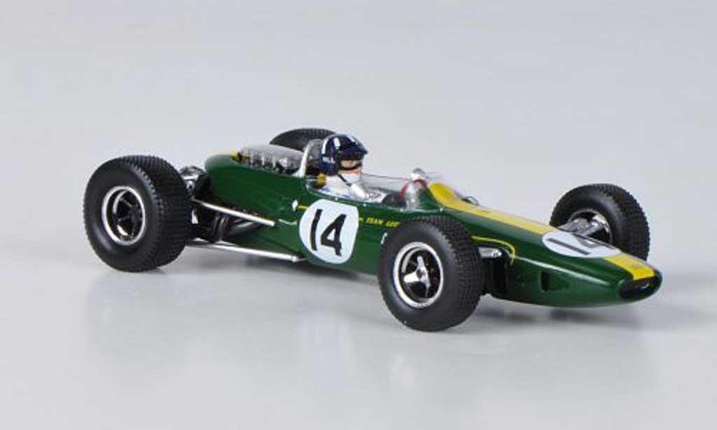 Lotus F1 1967 1/43 Spark Team 33 BRM No.14 G.Hill GP Monaco