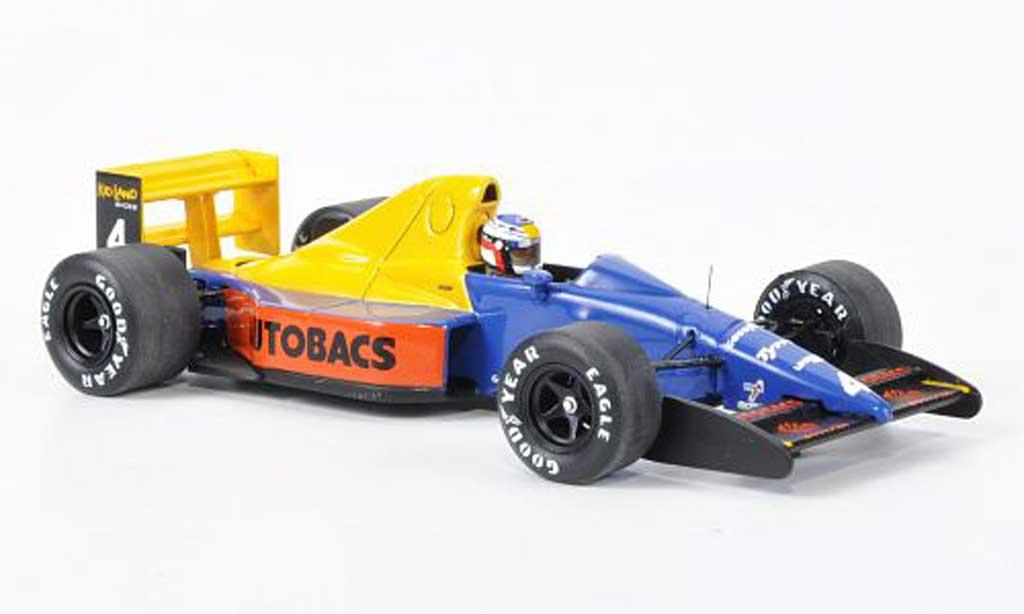 Tyrrell 018 1/43 Spark No.4 Camel J.Alesi GP Japan 1989 diecast model cars