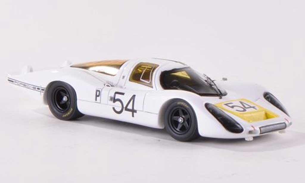 Porsche 907 1968 1/43 Spark LH No.54 24h Daytona J.Neerpasch/R.Stommelen/J.Siffert/H.Herrmann/V.Elford miniature