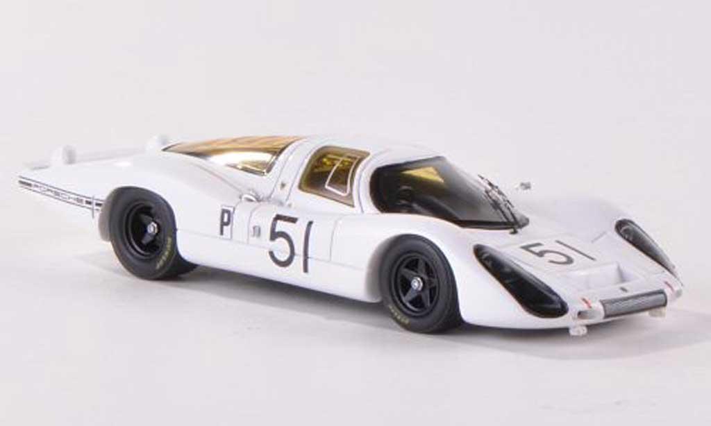 Porsche 907 1968 1/43 Spark LH No.51 24h Daytona J.Schlesser/J.Buzzetta miniature