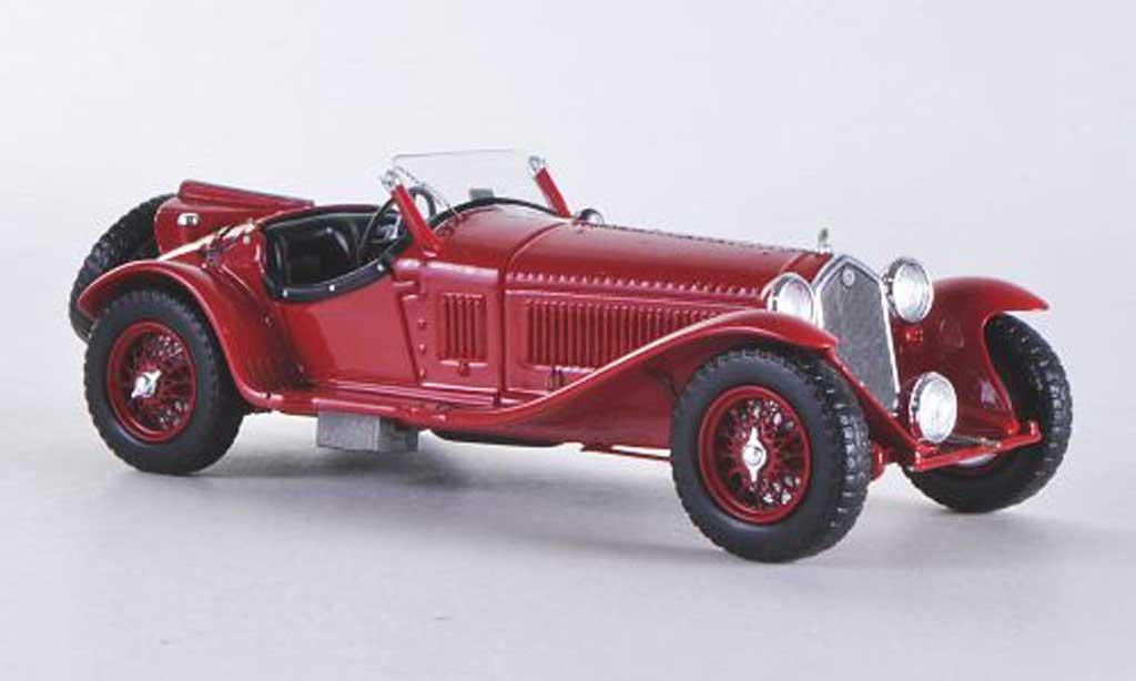 Alfa Romeo 8C 1/43 Spark Touring rouge 1936 miniature