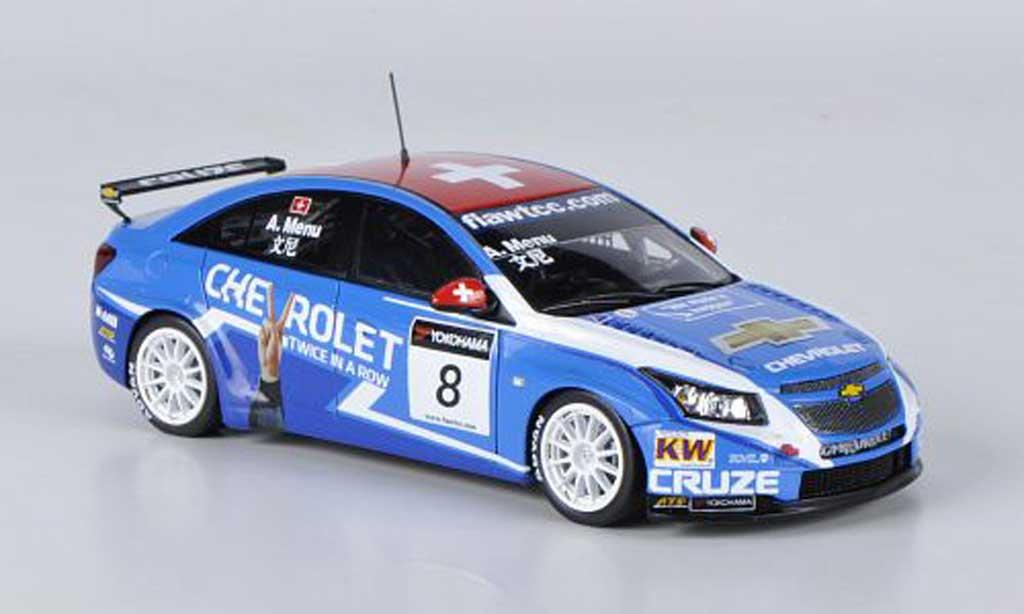 Chevrolet Cruze 2011 1/43 Spark 1.6T No.8 A.Menu WTCC GP Macau