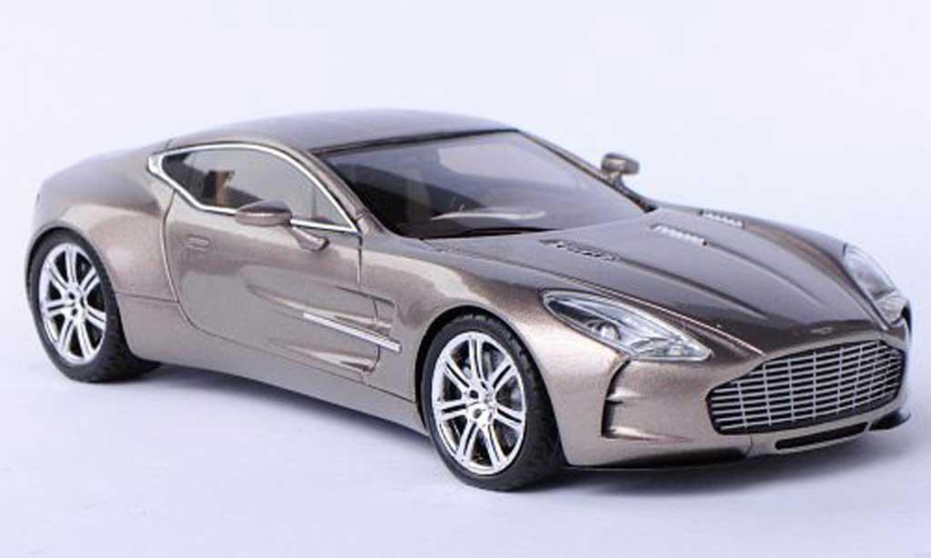 Aston Martin One 77 1/43 Spark 77 beige 2012 miniature
