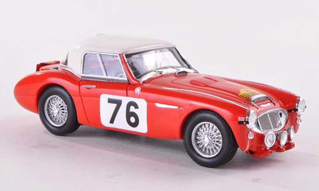 Austin Healey 3000 1/43 Spark No.76 Rally Liege-Rome-Liege 1960 P.Moss/A.Wisdom miniature