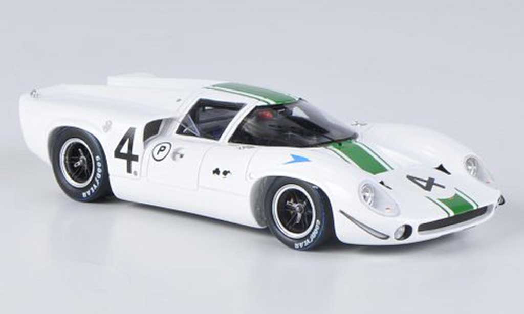 Lola T70 1967 1/43 Spark MKIII No.4 J.Brabham / D.Hulme BOAC 500 miniature