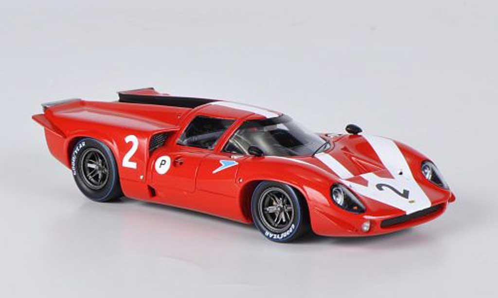 Lola T70 1967 1/43 Spark MkIII No.2 J.Surtees / D.Hobbs BOAC 500 miniature