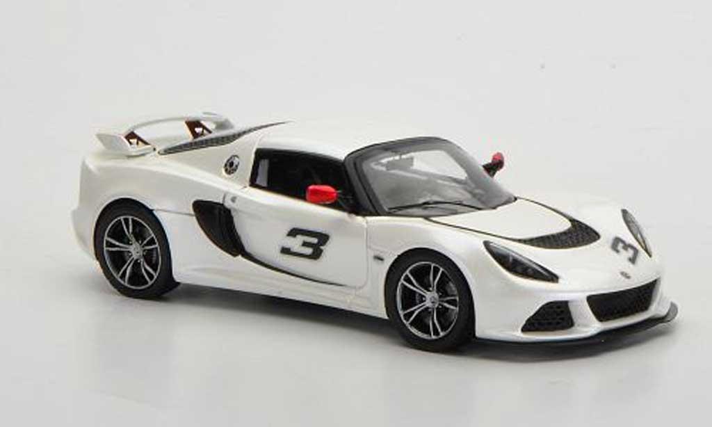 Lotus Exige 1/43 Spark S. weiss 2011 modellautos