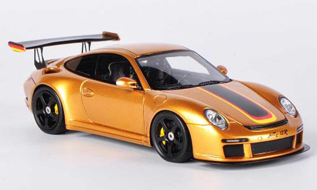 Ruf RT 12 1/43 Spark R gold 2011 miniature