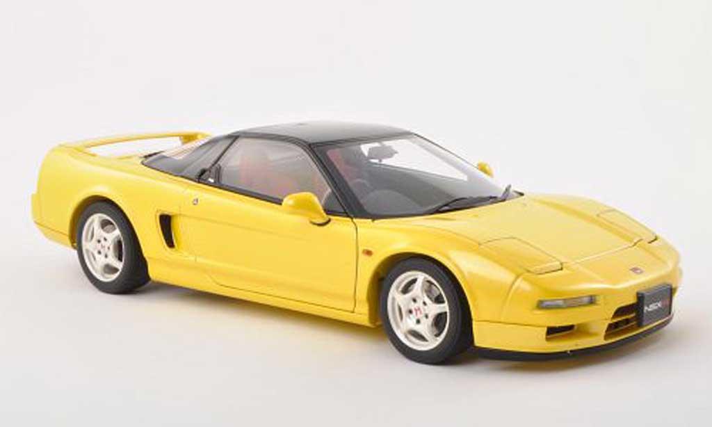 Honda NSX Type R 1/18 Autoart yellow/black 1992 diecast model cars