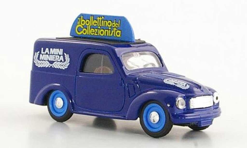 Fiat 500 C 1/43 Brumm Furgoncino La Mini Miniera diecast model cars