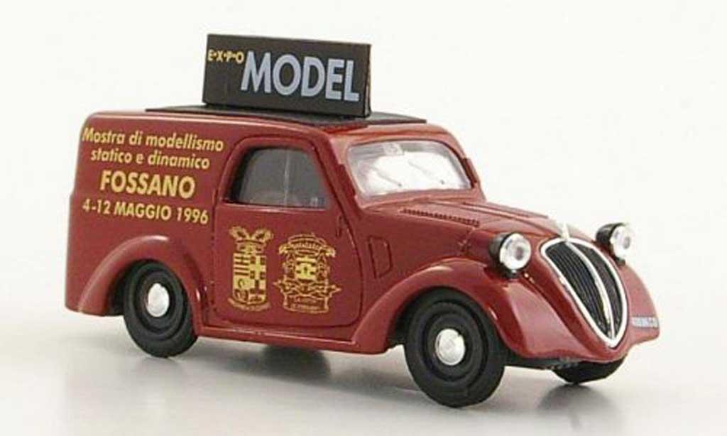 Fiat 500 1/43 Brumm B Furgoncino Expo Fossano 1946 diecast