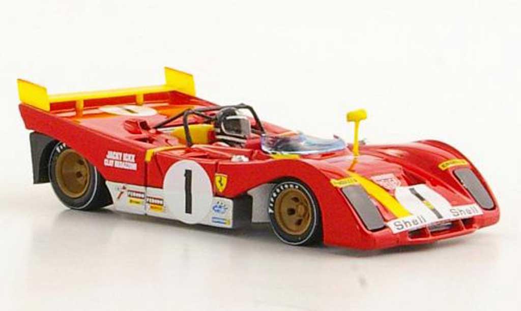 Ferrari 312 PB 1/43 Brumm No.1 J.Ickx / C.Regazzoni 1000Km Monza 1972 miniature