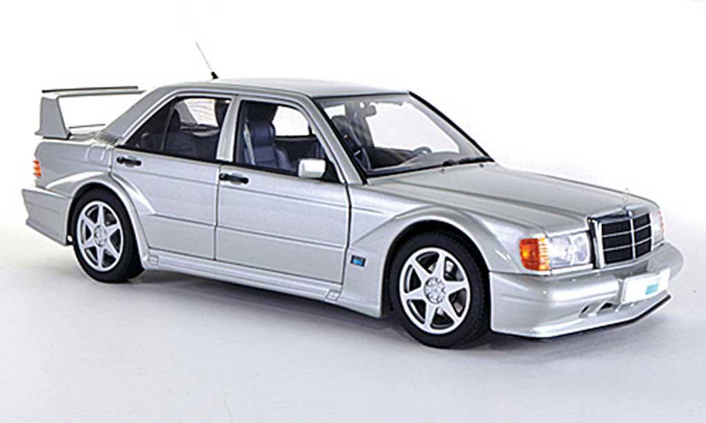 Mercedes 190 Evo 1/18 Autoart E 2.5-16V EVO 2 (W201) grey 1989 diecast model cars