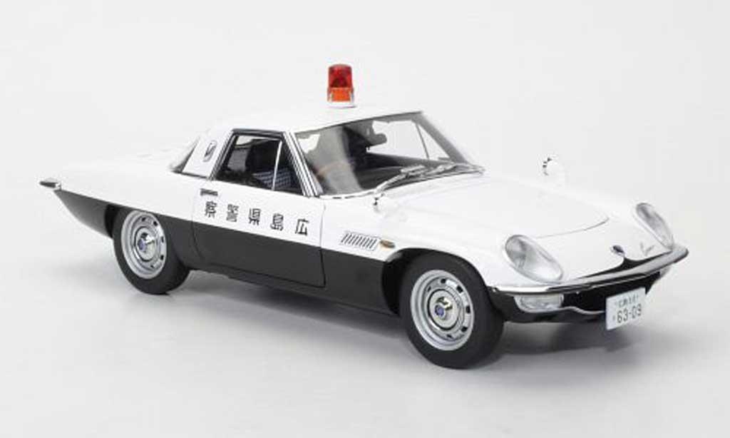 Mazda Cosmo 1/18 Autoart Sport japanische Polizei 1968 diecast