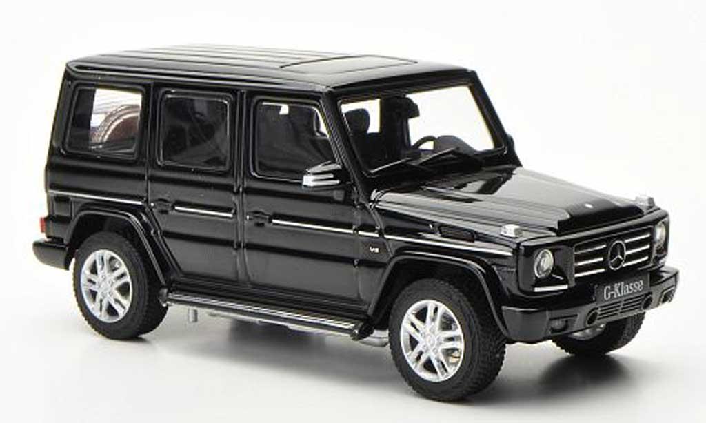 Mercedes Classe G 1/43 Autoart G500 (W463) noire 2012 miniature